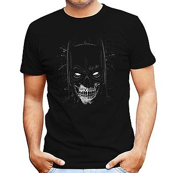 Batman Skull Portrait Men's T-Shirt