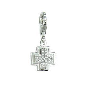 ESPRIT pendant of charms silver cross ESCH91428A000