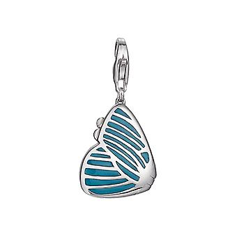 ESPRIT pendant of charms silver turquoise Butterfly ESCH91249A000
