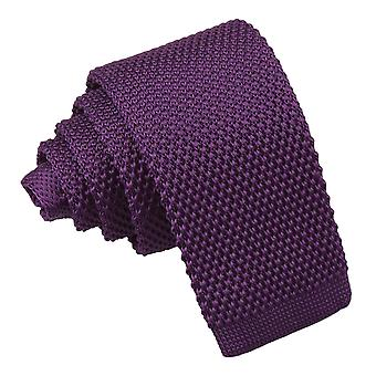 Cadbury Purple Knitted Tie for Boys