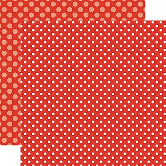 Echo Park Summer Dot/Stripe Double-Sided Cardstock 12