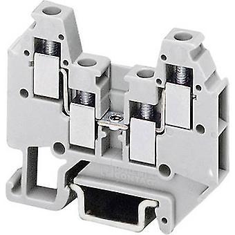 Phoenix Contact MT 1,5-QUATTRO 3001679 Micro terminal Anzahl der Pins: 4 0,14 mm ²-1,5 mm ² grau 1 -PC