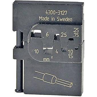 Inserto a crimpare Ferrules 0,25 fino a 10 mm ² Pressmaster 4300-3127 4300-3127 adatto a marchio Pressmaster MCT