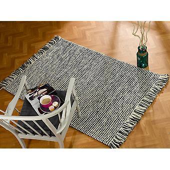 Retreat Maya Charcoal  Rectangle Rugs Plain/Nearly Plain Rugs