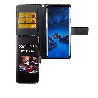 Mobiltelefon tilfælde pose til mobil Samsung Galaxy S9 + plus logo bære over med motorsav