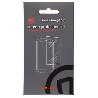 Ventev Anti-Glare Screen Protectors for Blackberry Q10 (Clear)