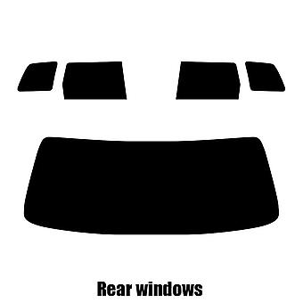 Pre cut window tint - Mitsubishi Outlander - 2003 to 2006 - Rear windows