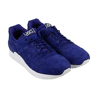 Asics Gel Resector Mens Blue Suede Athletic Lace Up Training Shoes