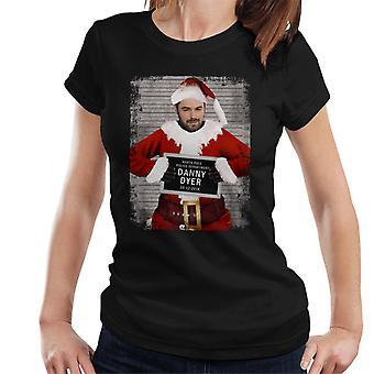 Christmas Mugshot Danny Dyer Women's T-Shirt