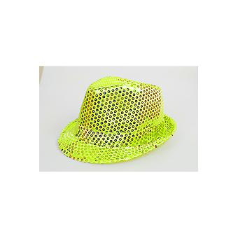 Hats  Glitter hat bright yellow