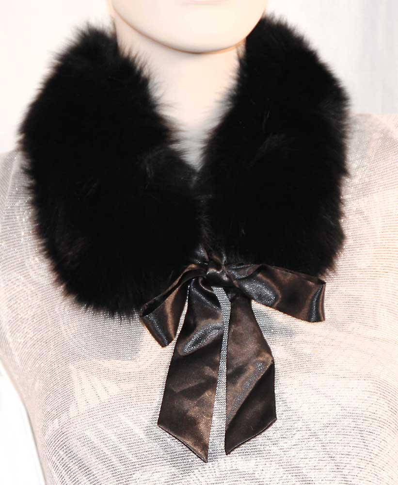 Waooh - Fur - Small scarf with fox tape