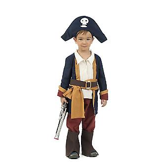 Piratenjunge barn kostyme Corsair unge drakt