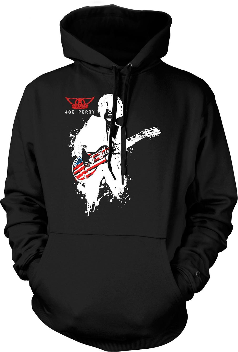 Barn Hoodie - Aerosmith - Joe Perry - gitarr