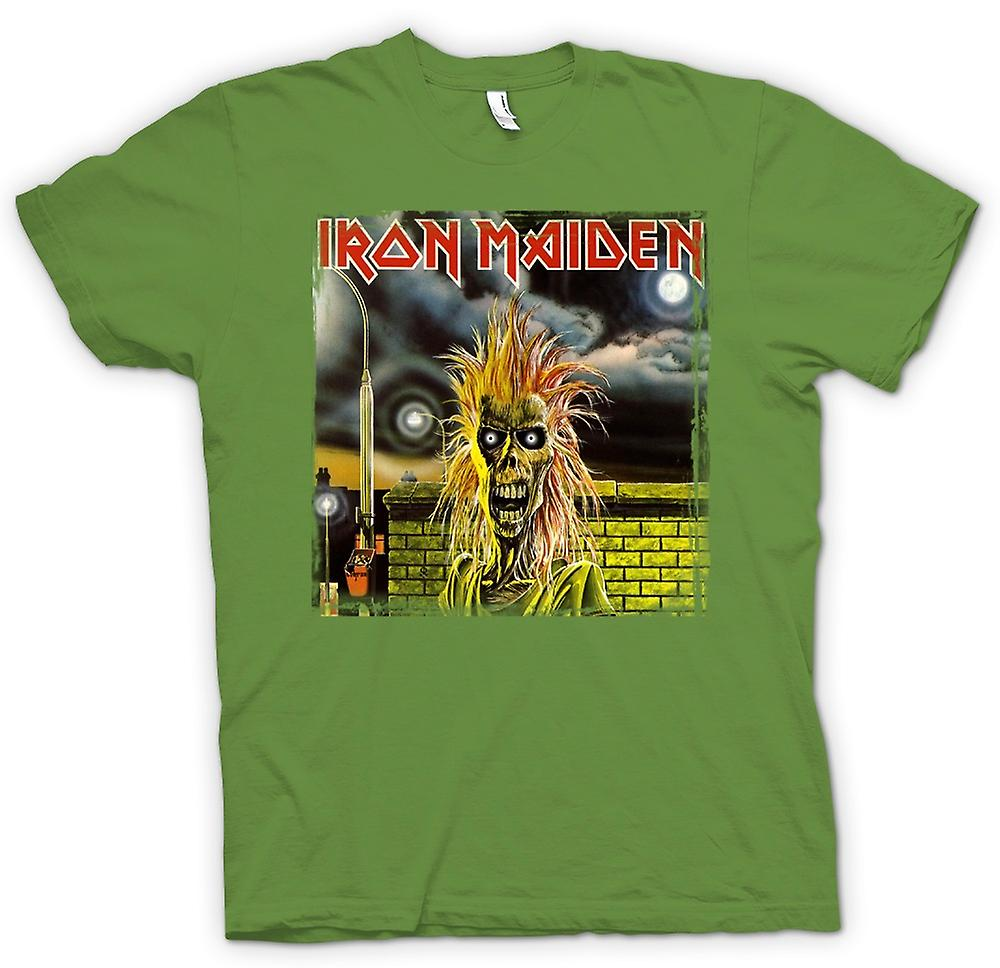 Heren T-shirt - Iron Maiden - Album Art
