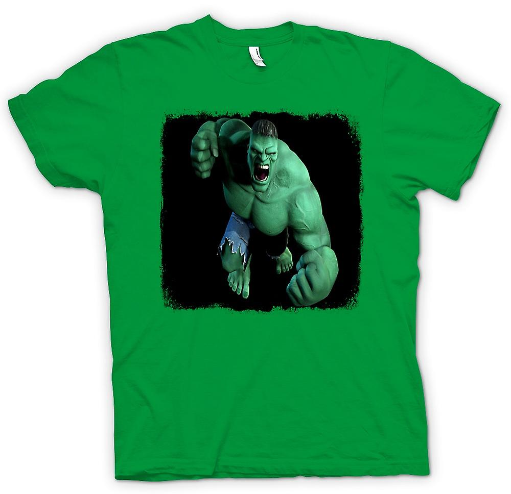 Mens T-shirt - Incredible Hulk - Fist