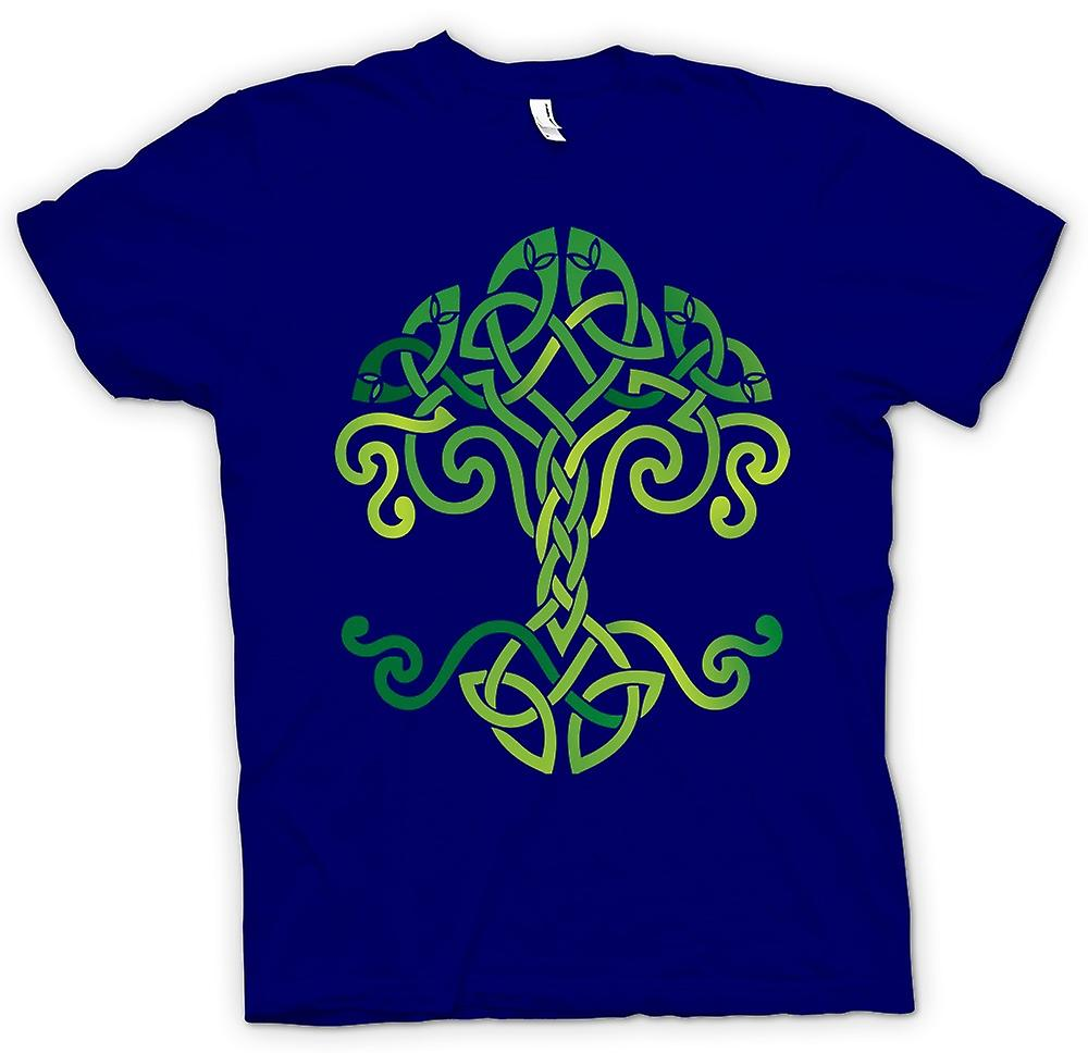 Herr T-shirt-Celtic Tribal Tree Of Life Symbol