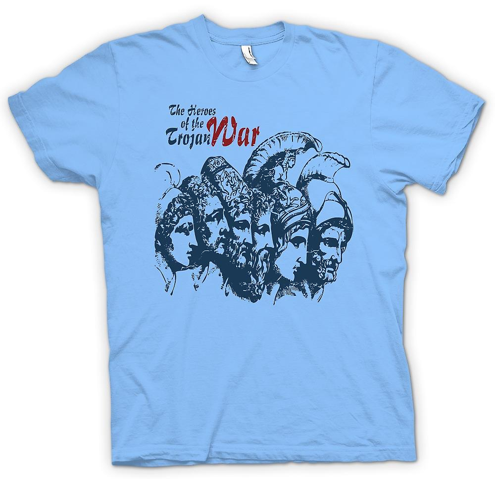 Mens T-shirt - The Heroes Of The Trojan War