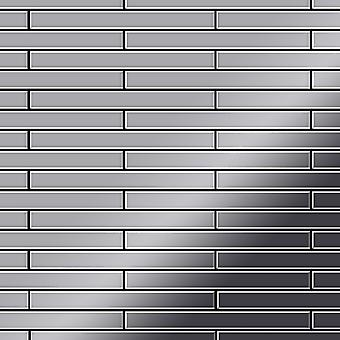 Metal mosaic Stainless Steel ALLOY Avenue-S-S-M