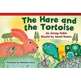 De Haas en de schildpad (vroege vloeiend Plus): een fabel van Aesopus naverteld door Sarah Keane (Lees! Ontdek! Stel je voor! Fictie...
