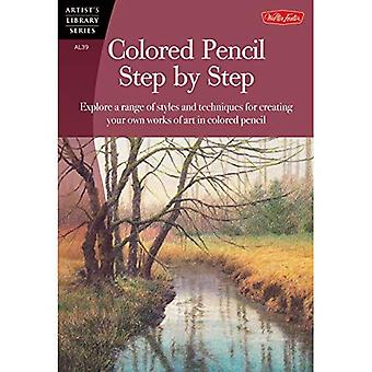Colored Pencil Step by Step (Artist's Library Series)