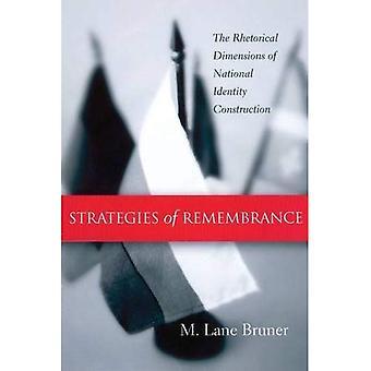 Strategier minnesdag: nationella identitetsskapande retoriska dimensioner