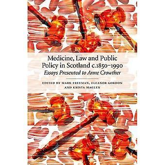Medicina, direito e políticas públicas na Escócia 1850-1990