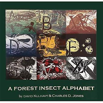 En skog insekt alfabetet
