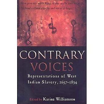 Contrary Voices: Representations of West Indian Slavery