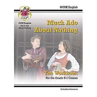 Nuevo grado 9-1 GCSE inglés Shakespeare - mucho Ado sobre nada libro (incluye respuestas)