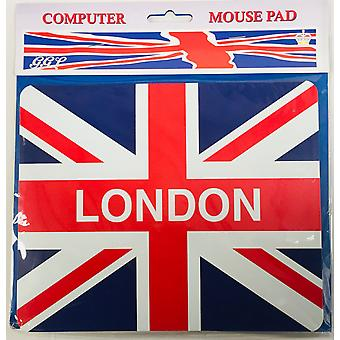 Union Flag London Mouse Mat & Coaster set 220 x 180 mm (Gg)