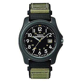 Timex T42571 Expedition Analog Camper Watch Quartz men's wrist, black/green