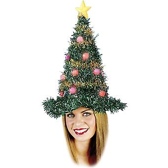 Christmas Tree Hat Light Up