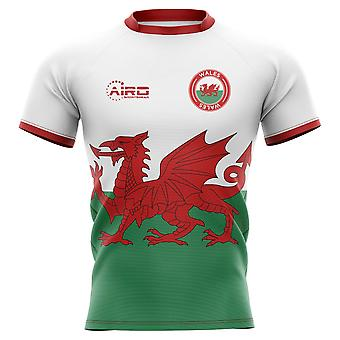 2019-2020 Wales Flag Concept Rugby Shirt - Kids