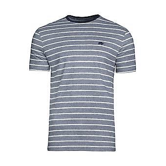 Feeder Stripe Tee - Navy