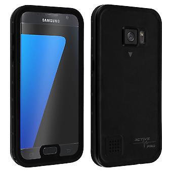 Galaxy S7 Protective Case Waterproof IP68 Shockproof 2m 4smarts Black