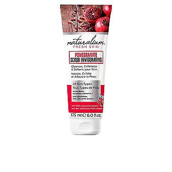Naturalium Pomegranate Scrub Invigorating All Skin Types 175ml