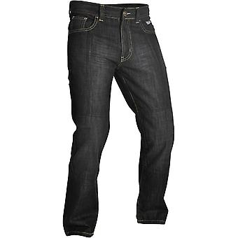 Oxford Black SP-J2 Long motorsykkel jeans