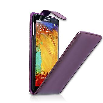 YouSave Samsung Galaxy Note 3 Leather Effect Flip Case - Purple