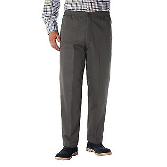 Mens HIGH-RISE Fleece Lined Leisure Trouser Pants