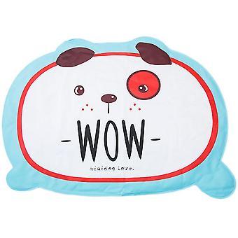 Cartoon pattern pet dog - bite resistant cooling sleeping mat