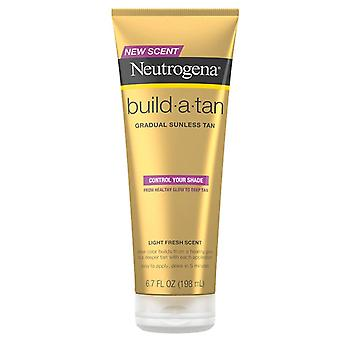 Neutrogena sun build a tan lotion, light fresh, 6.7 oz