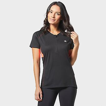 New Dare 2B Women's Tribe Cycling Short Sleeve Jersey Black