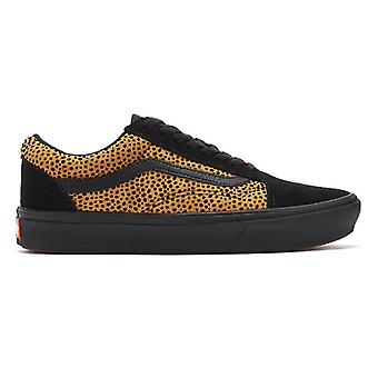 Vans Comfycush Old Skool Womens Black/Cheetah formadores