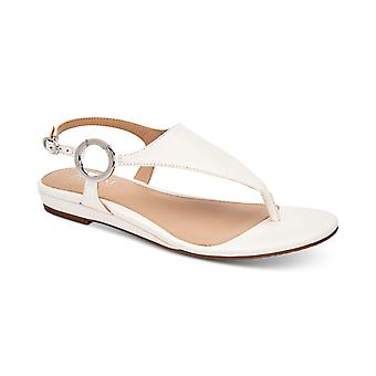 Alfani Womens Hayyden Leather Open Toe Beach Ankle Strap Sandals