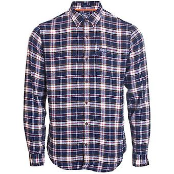 Superdry Workwear L/s Shirt Navy Check Superdry Workwear L/s Shirt Navy Check Superdry Workwear L/s Shirt Navy Check Superdry
