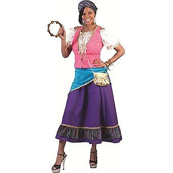 Gypsy Sophia Costume Orient Bazaar Carnival Costume Ladies Gipsy Queen Women's Costume Carnival