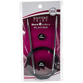 Cubics Platina Fixed Circular Needles 47
