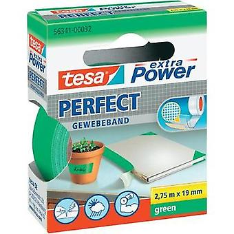 Cloth tape tesa tesa® Extra Power Green (L x W) 2.75 m x 19 mm