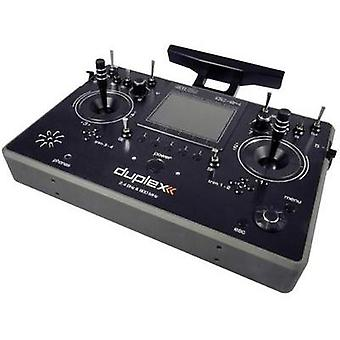 Jeti DUPLEX DC-24 Multimode RC console 2,4 GHz No. of channels: 24 Incl. receiver