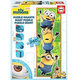 Educa Puzzle Minions 240 Pieces (Speelgoed , Bordspellen , Puzzels)
